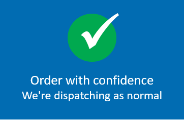 Order with confidence – we're dispatching as normal!