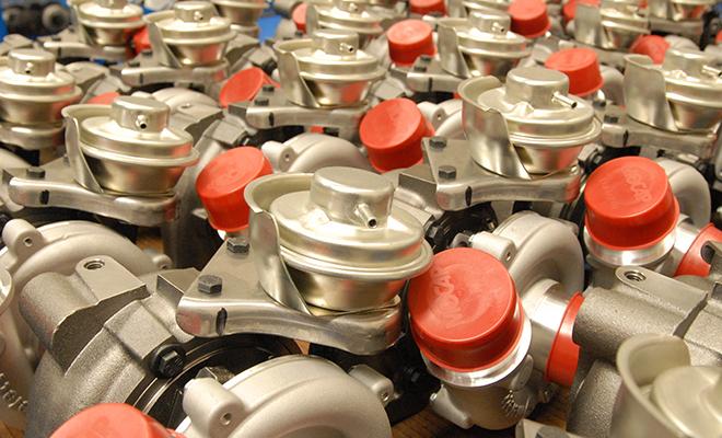 Melett turbocharger production