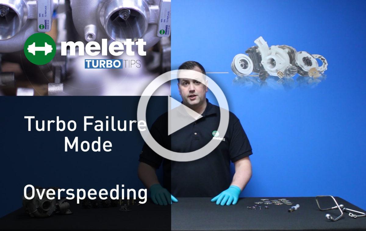 ¿Cómo causa la sobrevelocidad fallo en el turbo??